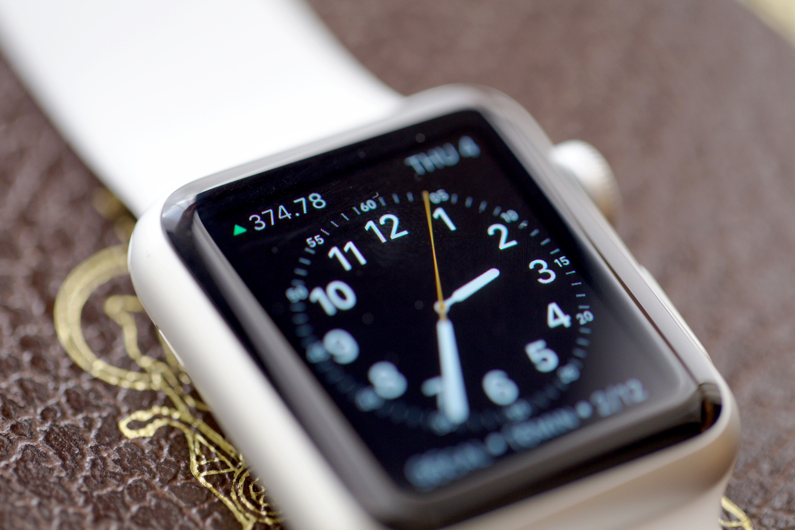 Utility Face with Bitcoin Complication on Apple Watch