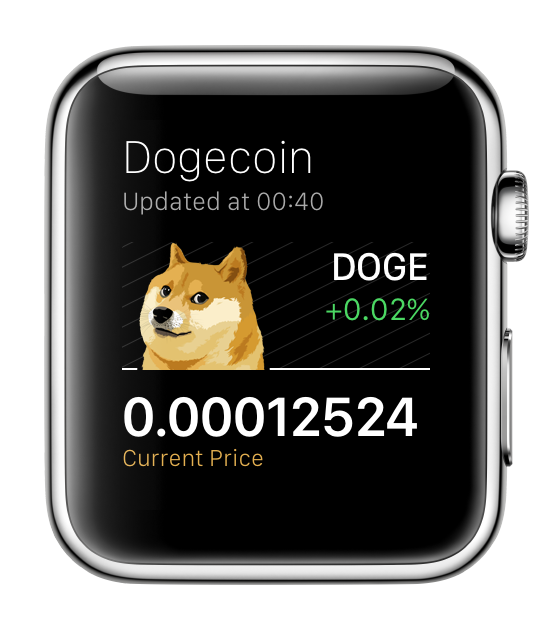 Dogecoin for Apple Watch