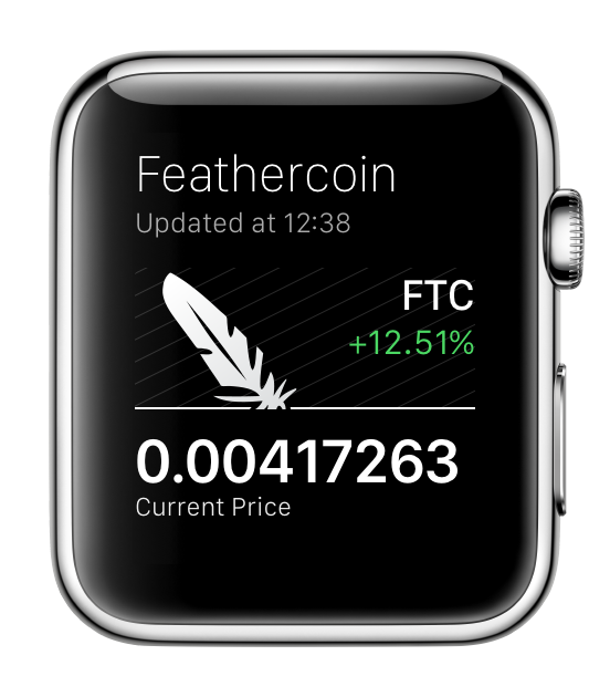FeatherCoin for Apple Watch