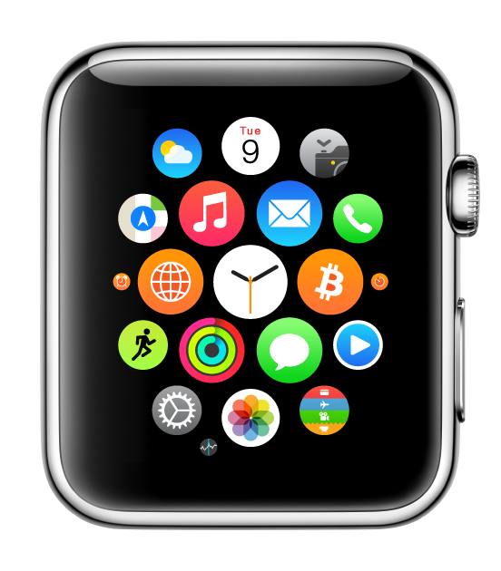 Bitcoin on Apple Watch