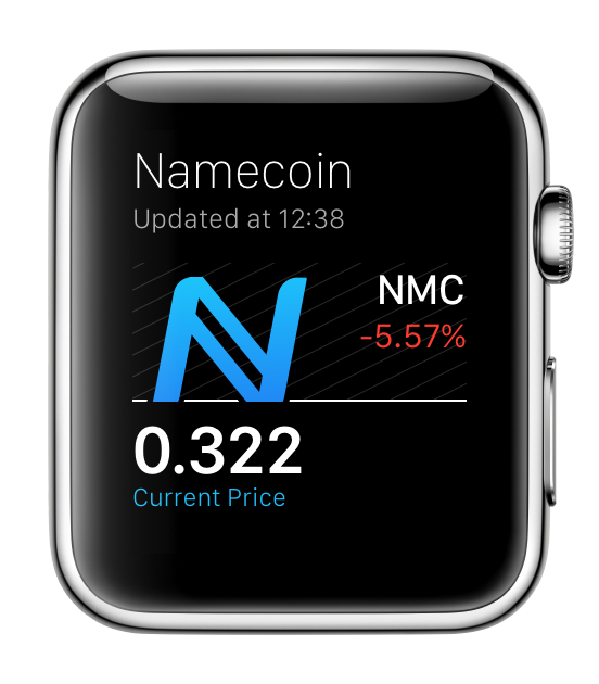 Namecoin for Apple Watch