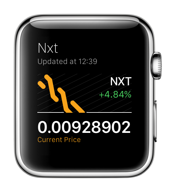 NXT for Apple Watch