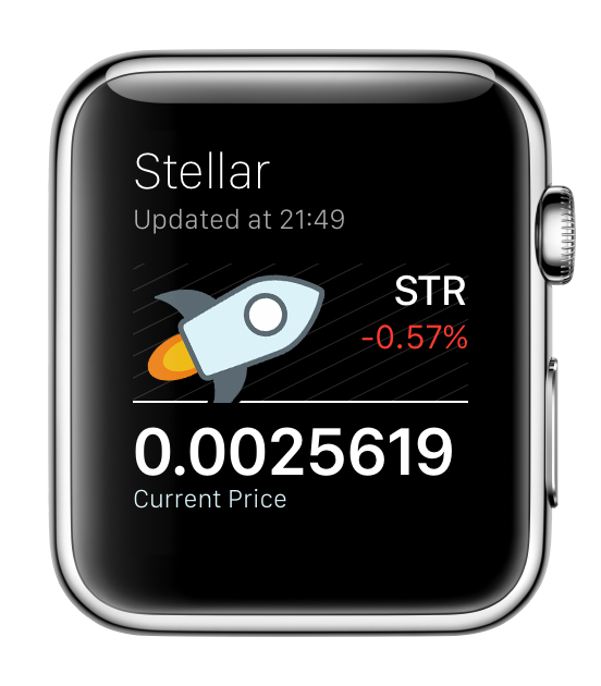Stellar for Apple Watch